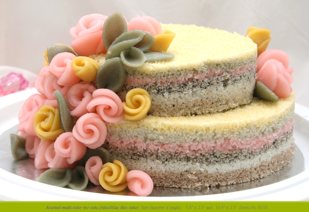 Sweet Rice Cakes For Birthday Party