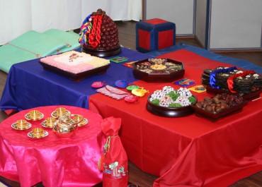 Pyebaek Ceremony in Livemore