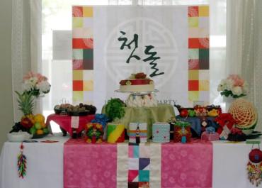 1st Birthday Party For Caleb (Korean Dol Janchi)