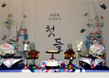 1ST BIRTHDAY, Dol Janchi For Juri Moon